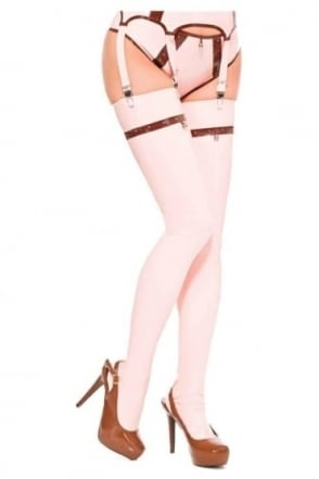 Mirabell Latex Rubber Stockings