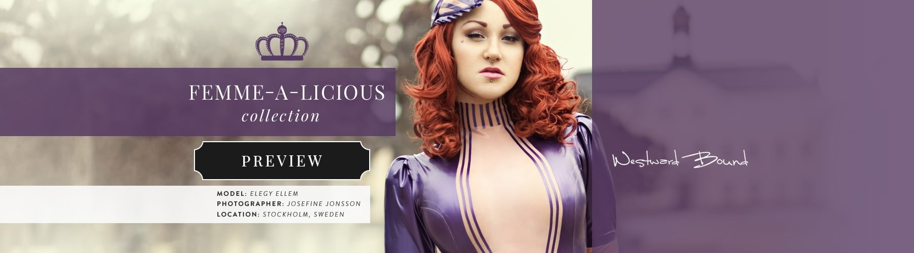 Femme-A-Licious Latex Rubber Clothing Collection.
