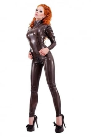 Montmartre Latex Rubber Catsuit.