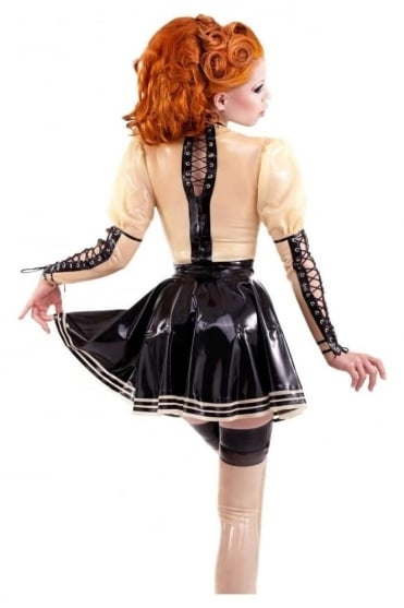 Muffin Moiselle Latex Rubber Skirt