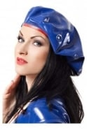 Nautical Sailorette Latex Rubber Cap