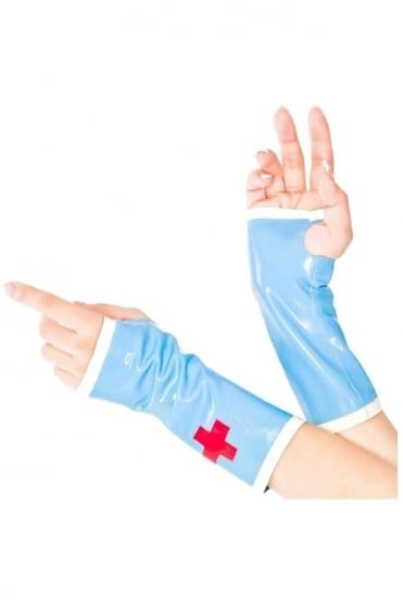 Nurse Latex Rubber Mitts