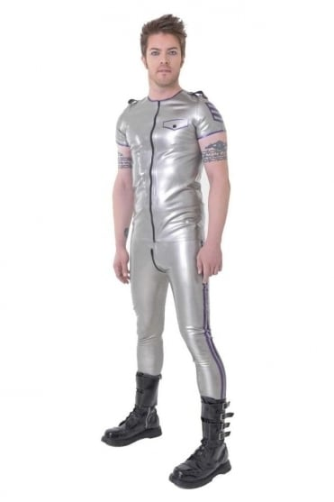 Officer Latex Rubber Leggings