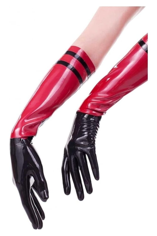 Ophelia-Lux Latex Rubber Gloves