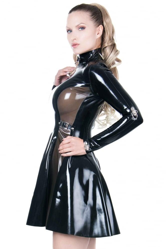 bound in rubber Transvestite