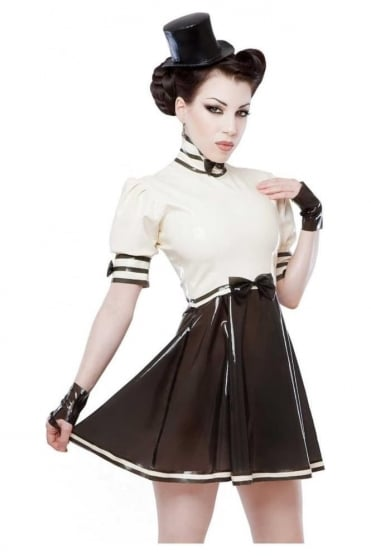Pirouette Latex Rubber Dress.