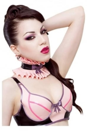 Pixie-Luxe Latex Rubber Collar