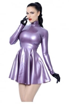 Polo Swing Latex Rubber Dress.