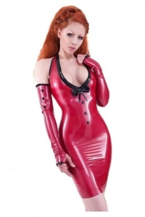 Red Label - Kandy Love Latex Rubber Dress.