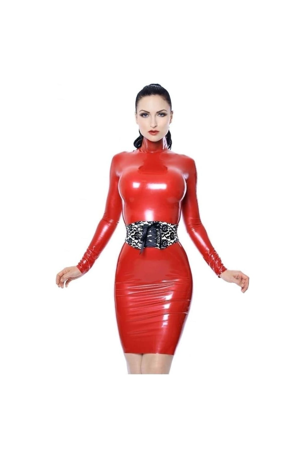 Agree, hand made latex talented