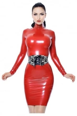 Red Label - Kittylux Latex Rubber Top