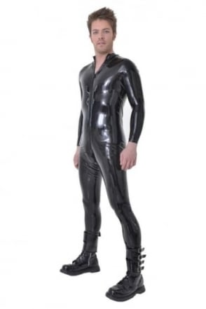 Red Label - Nereus Men's Latex Rubber Catsuit.