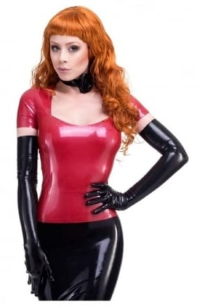 Red Label - Snuggle Bunny T Latex Rubber Shirt.