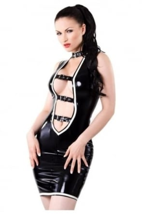 Shameless Latex Rubber Dress.