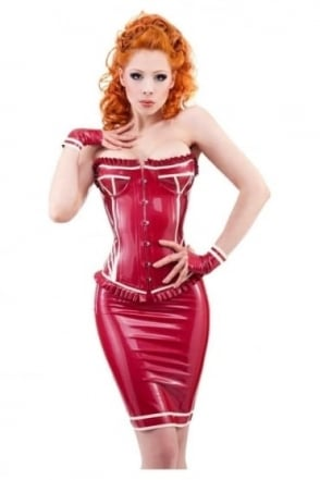 Silhouette Latex Rubber Skirt