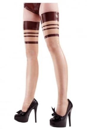 Sinsomnia Latex Rubber Stockings