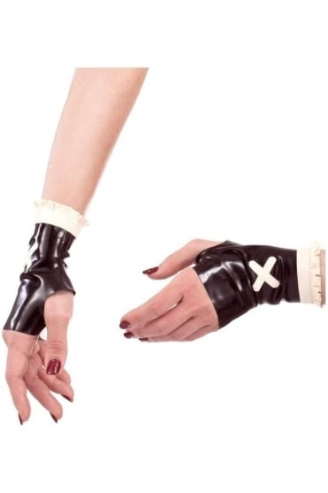 Soiree Latex Rubber Mitts