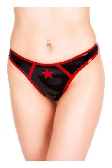 Star Latex Rubber Thong