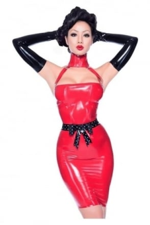 Succumb Latex Rubber Dress