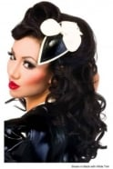 Trimmed Bow Latex Rubber Fascinator