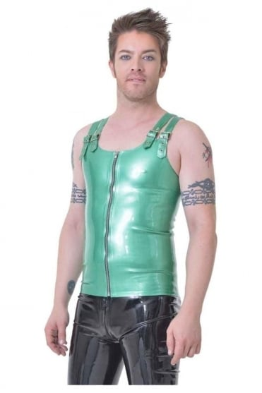 Twin buckle Latex Rubber Vest.