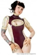 Victorie Von Luc Latex Rubber Leotard