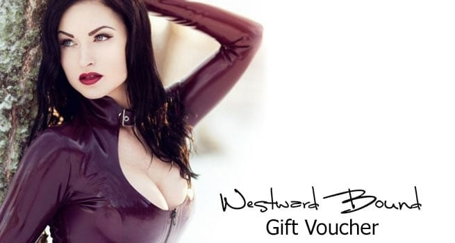 Latex Clothing Gift Voucher by Westward Bound.