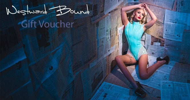 Latex Clothing Gift Voucher by Westward Bound