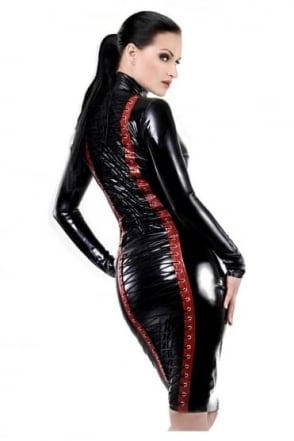 X-Treme Latex Rubber Skirt.
